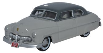 Oxford Diecast 87ME49006 1949 Mercury Temple Gray_Dakota Gray