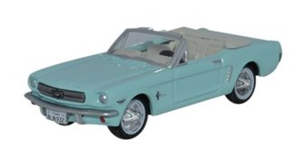 Oxford Diecast 87MU65002 1965 Ford Mustang Convertible