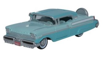 Oxford Diecast 87MT57004 1957 Mercury Turnpike Tahitian Green_Spring Valley Gr.