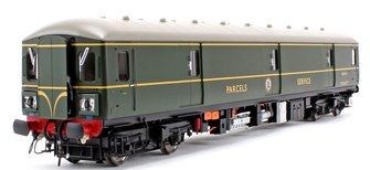 Class 128 DPU 'Parcels Service' BR Green (Single Speed Whiskers) Locomotive W55991
