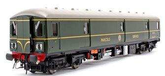 Class 128 DPU 'Parcels Service' BR Green (Single Speed Whiskers) Locomotive W55991