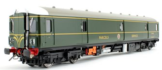 Class 128 DPU 'Parcels Service' BR Green (Double Speed Whiskers) Locomotive W55993