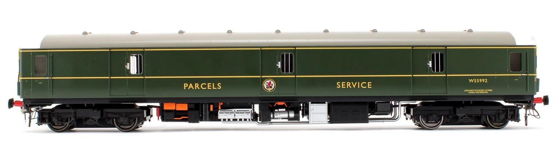 Class 128 DPU 'Parcels Service' BR Green Locomotive W55992