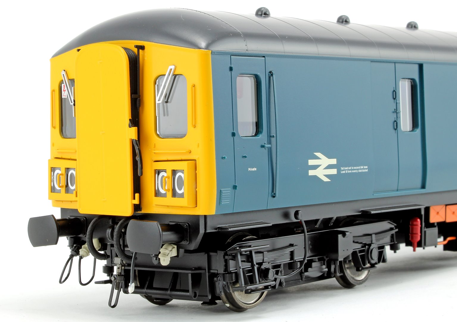 Class 128 DPU 'Parcels Service' BR Rail Blue (Full Yellow Ends) Locomotive M55994