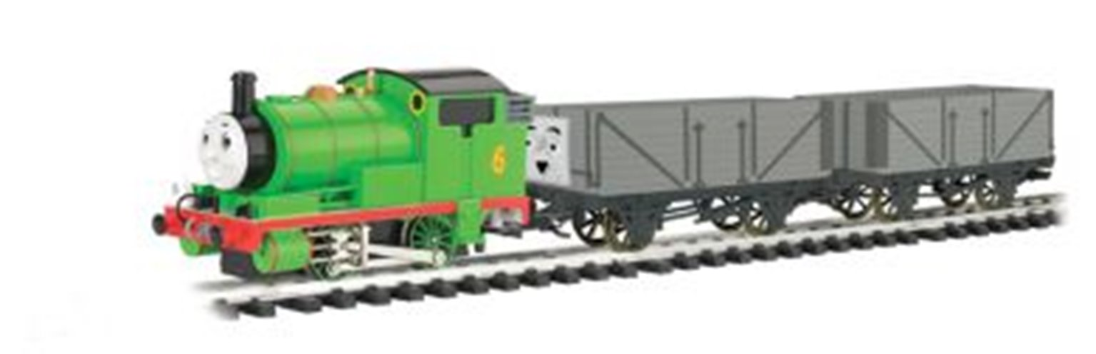 'G' Gauge Percy & The Troublesome Trucks Train Set