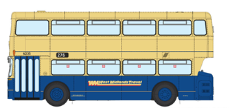 1/76 West Midlands Fleetline #6325 - WMT Blue/Cream - 276 DUDLEY VIA DARBY END