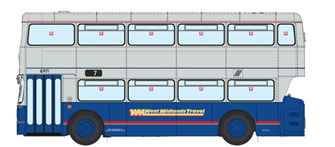 1/76 West Midlands Fleetline #6916 - WMT Blue/Grey - 7 HENLEY GREEN