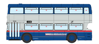1/76 West Midlands Fleetline #7000 - WMT Blue/Silver - 11E PERRY BARR