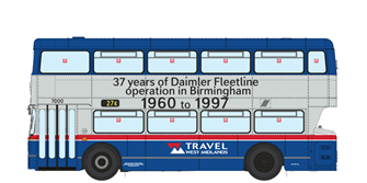 1/76 West Midlands Fleetline #7000 - Last Day of Operation Special Edition