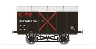Gunpowder Van - GWR No.105777 (Diagram Z4)