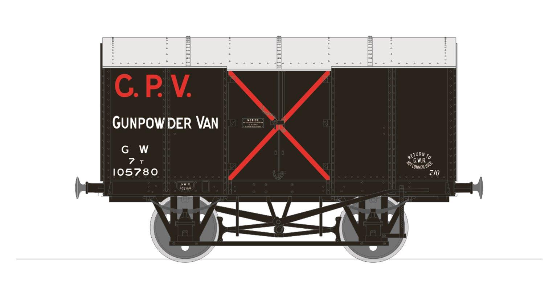 Gunpowder Van - GWR No.105780 (Diagram Z4)