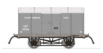 Gunpowder Van - LMS No.701016 (RCH Pattern)