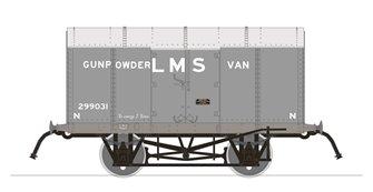Gunpowder Van - LMS No.299031 (RCH Pattern)