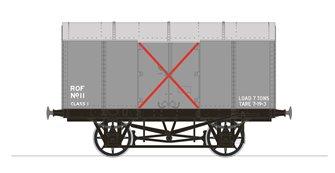 Gunpowder Van - Royal Ordnance Factory No.11 (RCH Pattern)