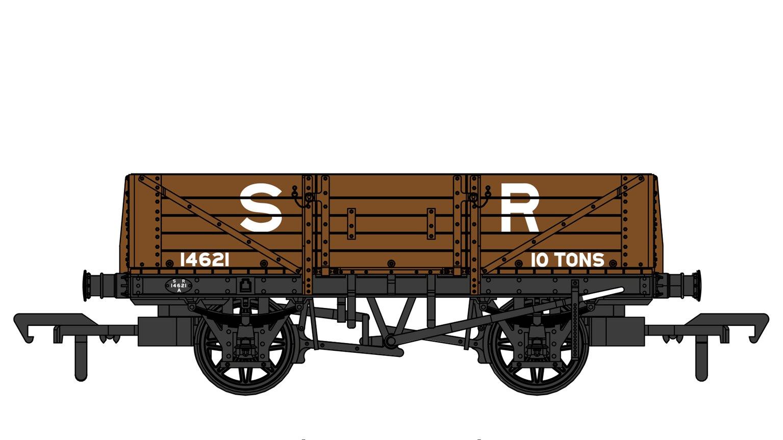 SECR 1349 5 Plank Open Wagon - SR Brown (pre-1936) #14621