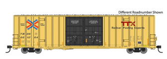 60' High Cube Plate F Boxcar TTX 661273