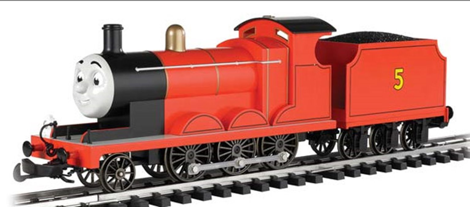 James the Red Engine (with moving eyes)