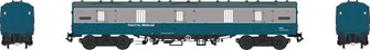 BR Mk1 57' GUV (General Utility Van) BR blue/grey Motorail with Commonwealth bogies unnumbered