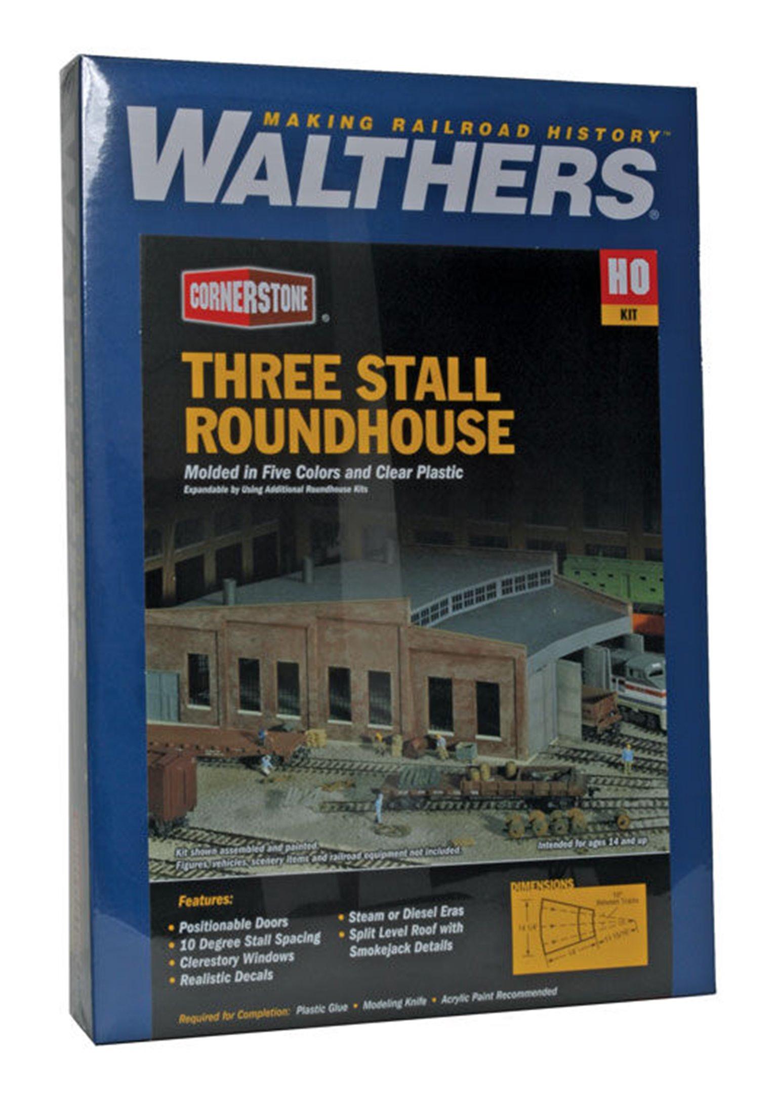 Roundhouse Three Stall Kit