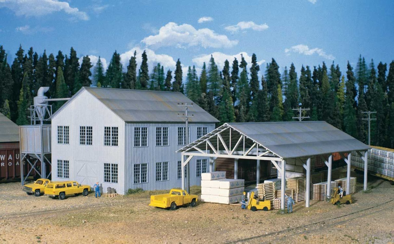 Planing Mill And Shed Main Building Kit