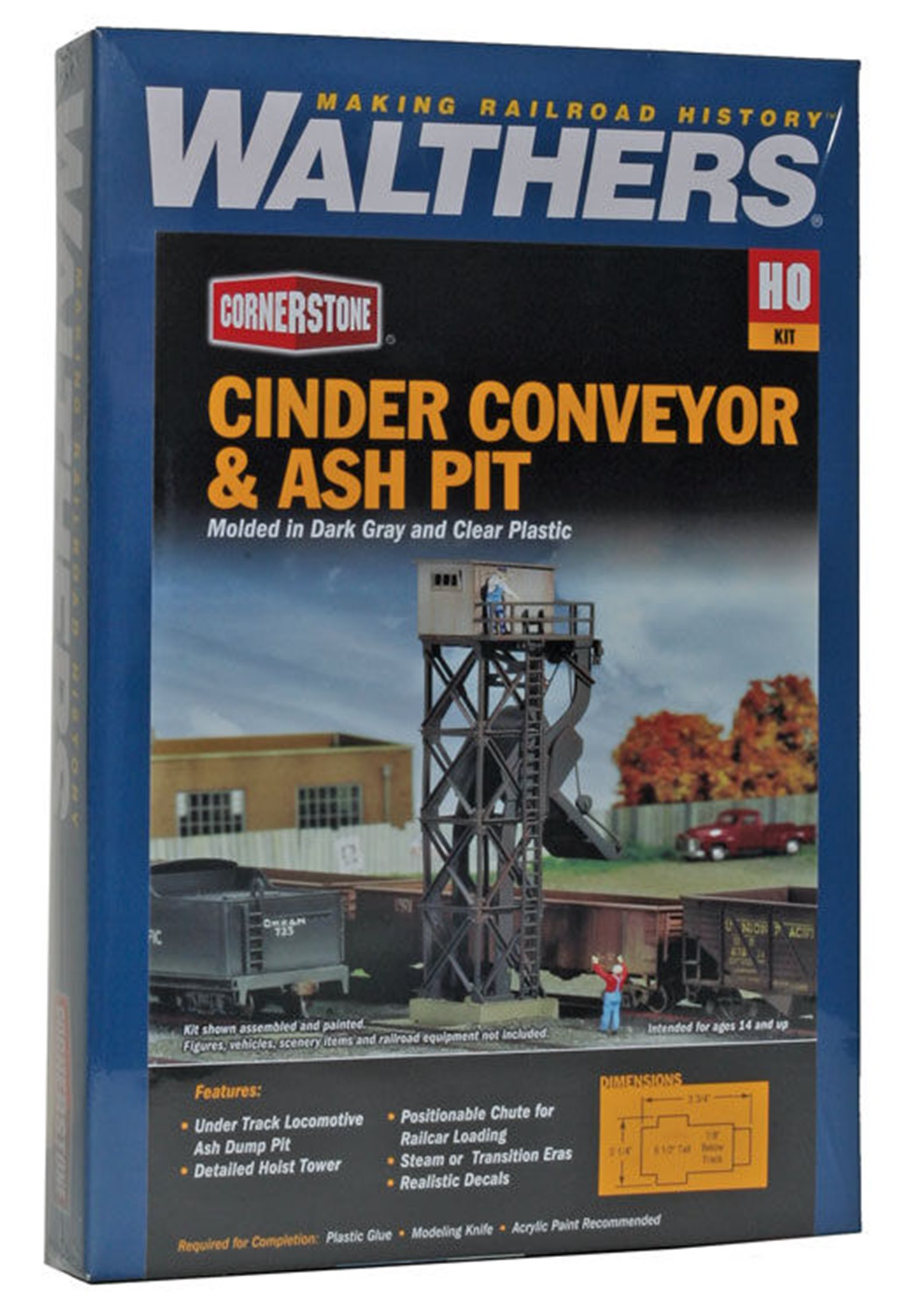 Cinder Conveyor And Ash Pit Kit