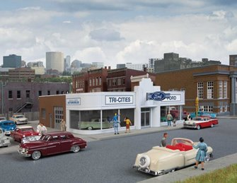 Vintage Ford Auto Dealership Kit