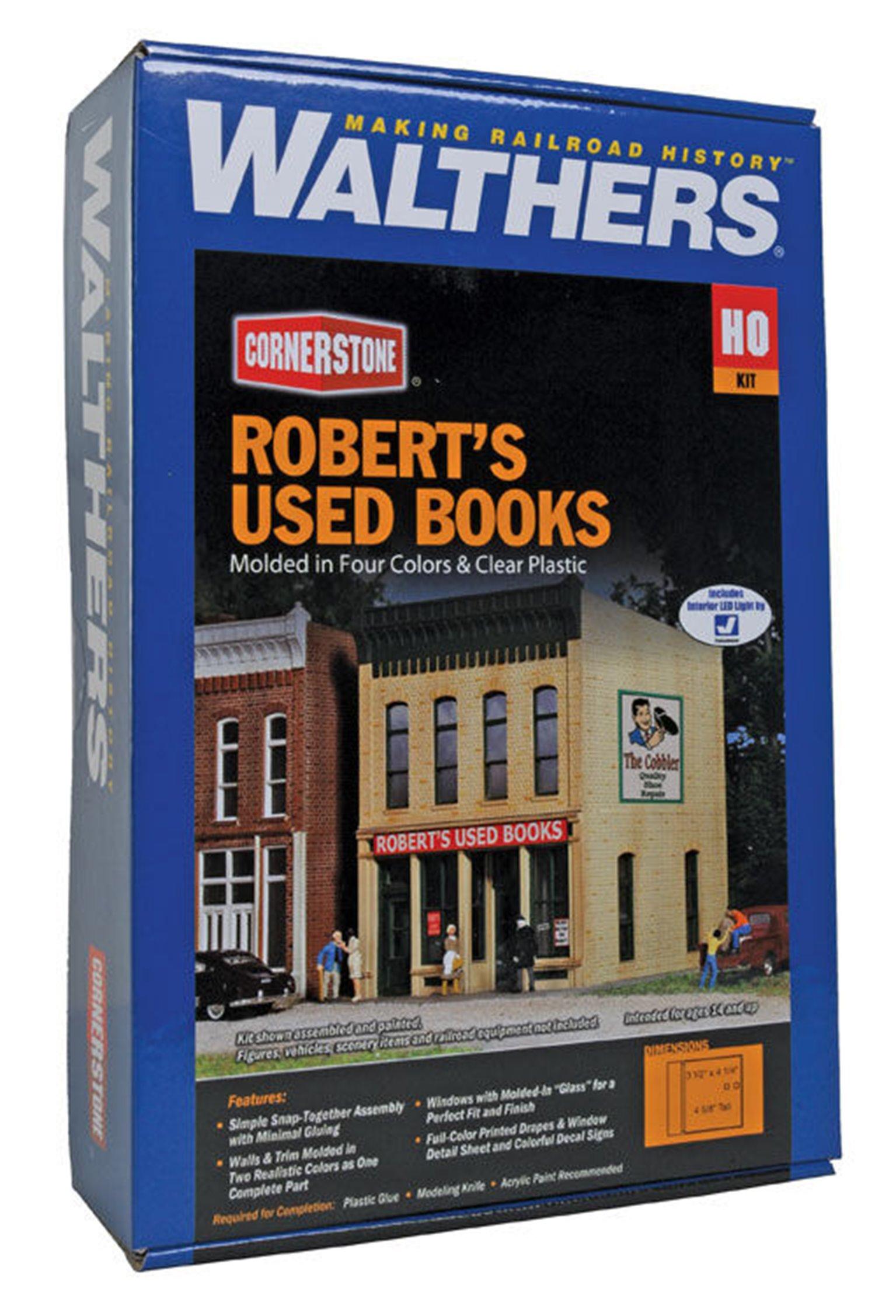 Robert's Used Books Plastic Kit