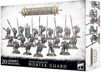 Warhammer Age of Sigma Ossiarch Bonereapers Mortek Guard