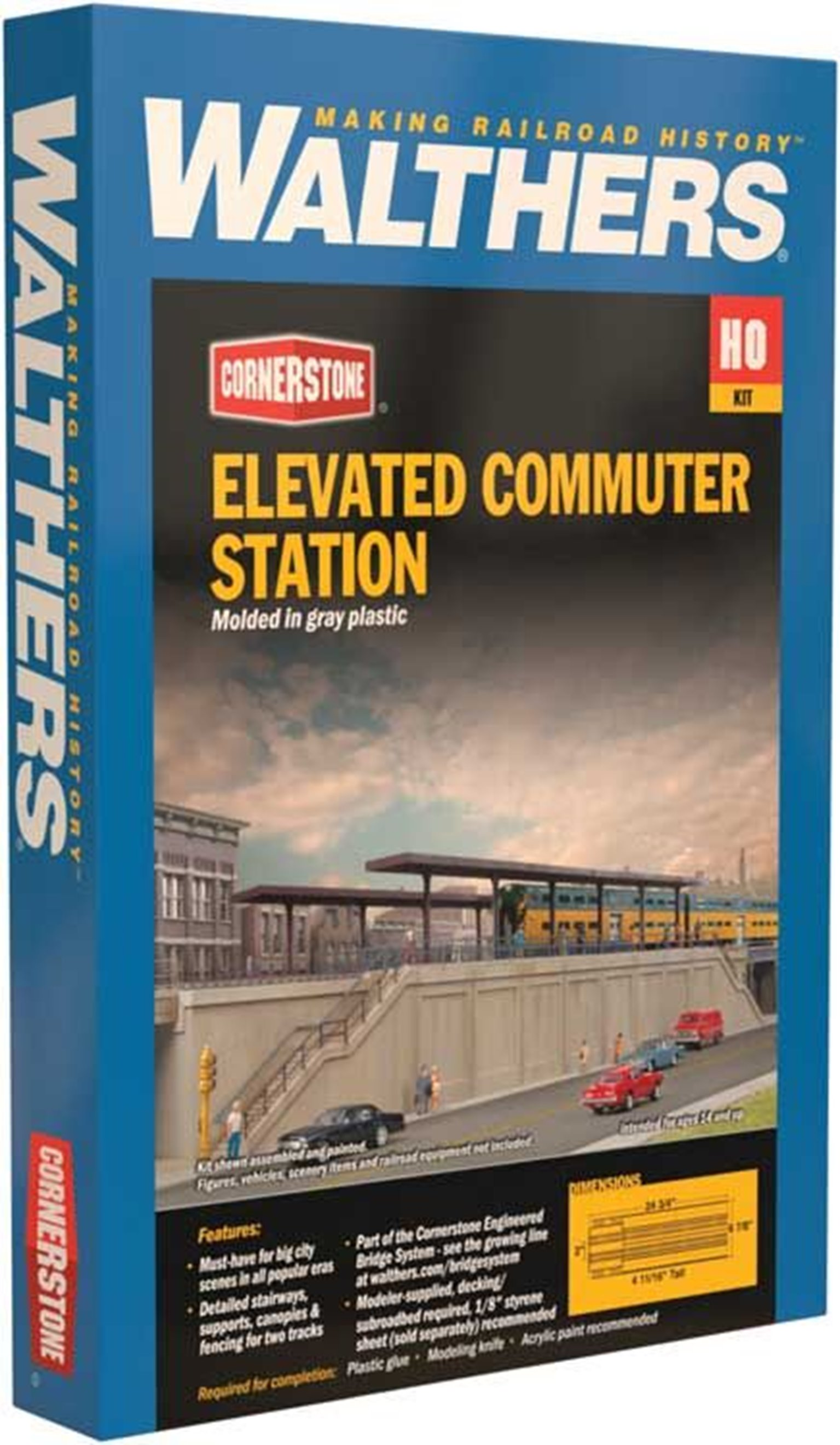 Elevated Commuter Station Kit