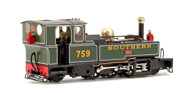 Lynton & Barnstaple E759 'YEO' in SOUTHERN livery