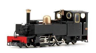 Lynton & Barnstaple 'Lyd' Plain Black 2-6-2 Tank Locomotive No.190