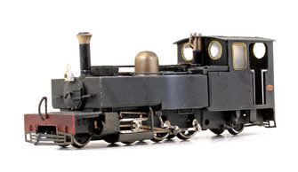 Lynton & Barnstaple 'Lyd' Plain Black 2-6-2 Tank Locomotive No.190 (Weathered)