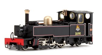 Lynton & Barnstaple 'LYD' 2-6-2 Tank BR lined Black (Preserved) Locomotive No. 30190