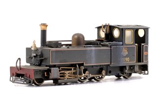 Lynton & Barnstaple 'LYD' 2-6-2 Tank BR lined Black (Preserved) Locomotive No. 30190 (Weathered Edition)