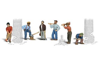 Scenic Accents - Lumberjacks - HO Scale