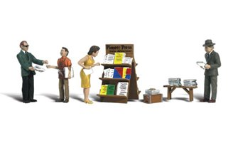 Scenic Accents - Newsstand - HO Scale