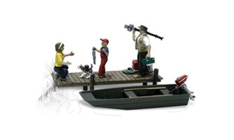 Scenic Accents - Family Fishing - HO Scale