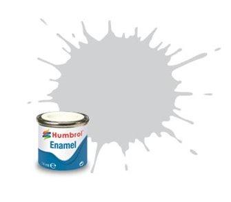 Humbrol 11 Silver Metallic - 14ml Enamel Paint