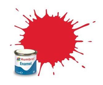Humbrol 19 Bright Red Gloss - 14ml Enamel Paint