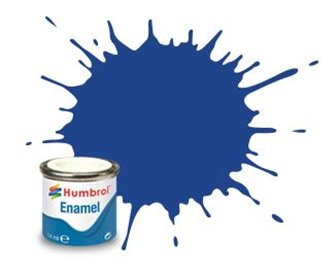 Humbrol 25 Blue Matt - 14ml Enamel Paint