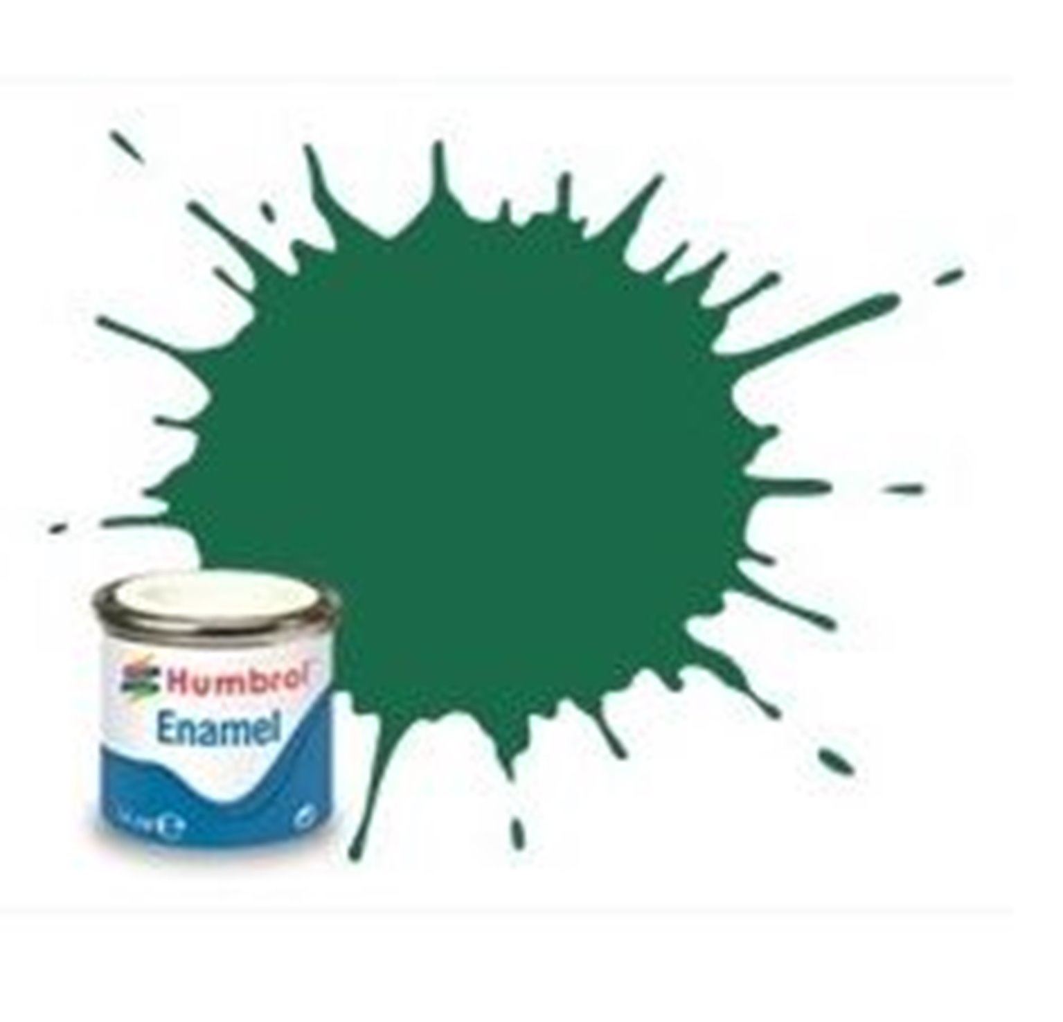 Humbrol 30 Dark Green Matt - 14ml Enamel Paint