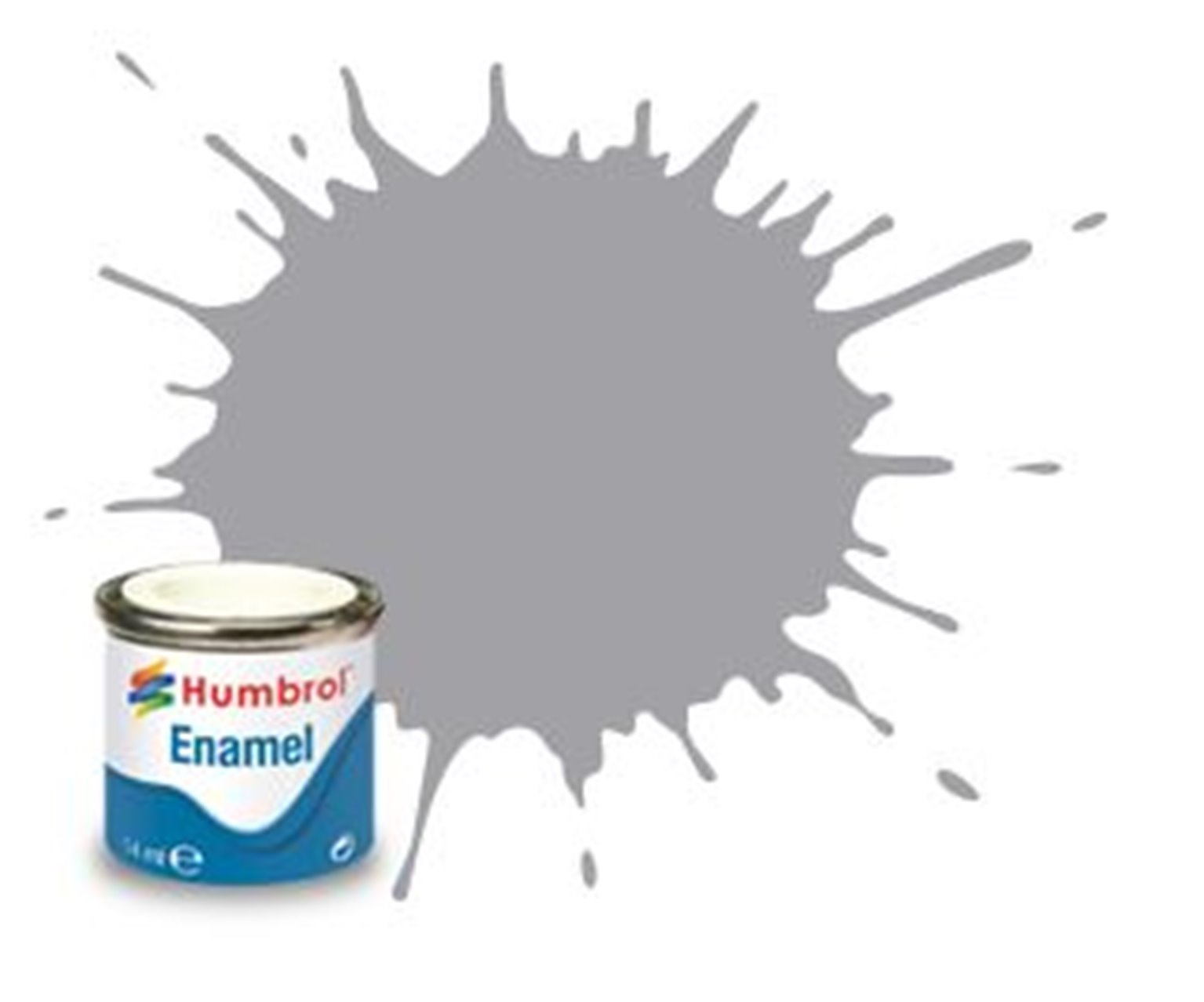 Humbrol 40 Pale Grey Gloss - 14ml Enamel Paint