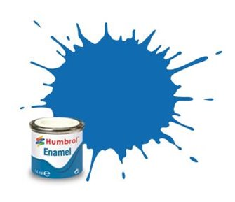 Humbrol 52 Baltic Blue Metallic - 14ml Enamel Paint