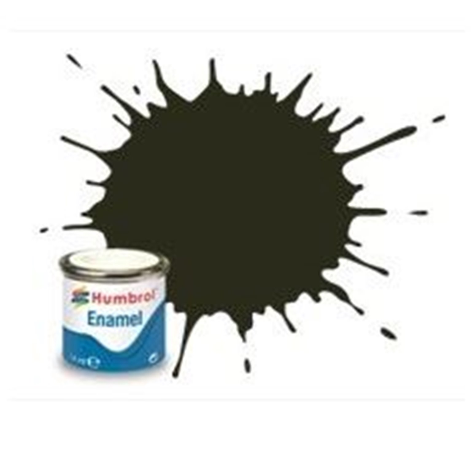 Humbrol 53 Gunmetal Metallic - 14ml Enamel Paint