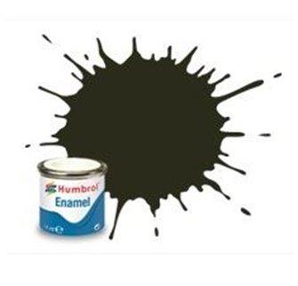 Humbrol 53 Gunmetal Metallic - 14ml Enamel Paint