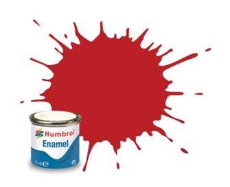 Humbrol 60 Scarlet Matt - 14ml Enamel Paint