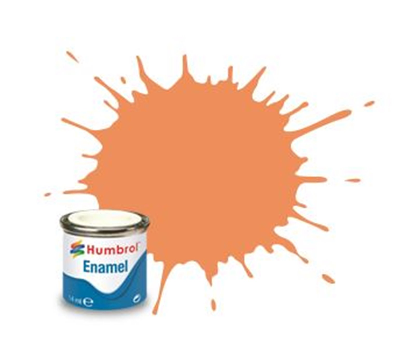 Humbrol 61 Flesh Matt - 14ml Enamel Paint