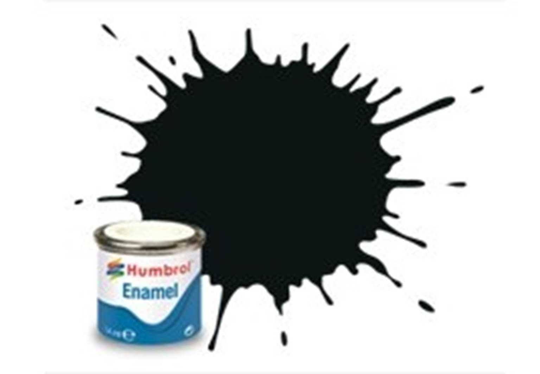 91 Black Green Matt - 14ml Enamel Paint