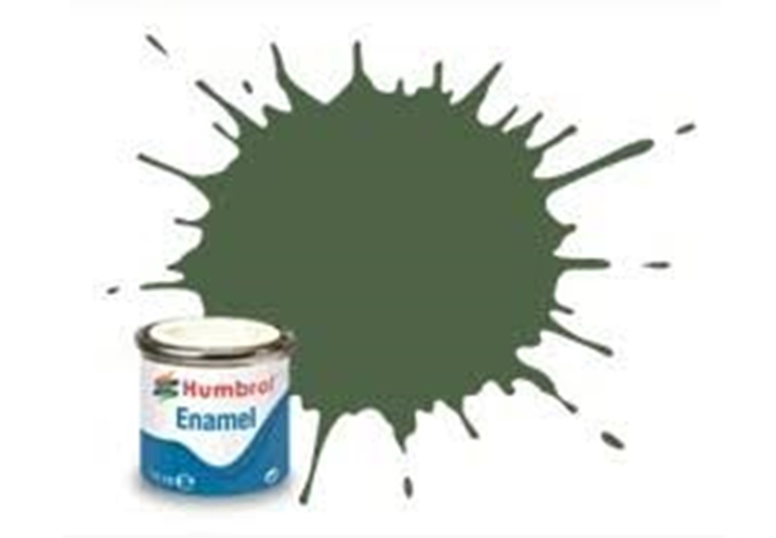 117 US Light Green Matt - 14ml Enamel Paint