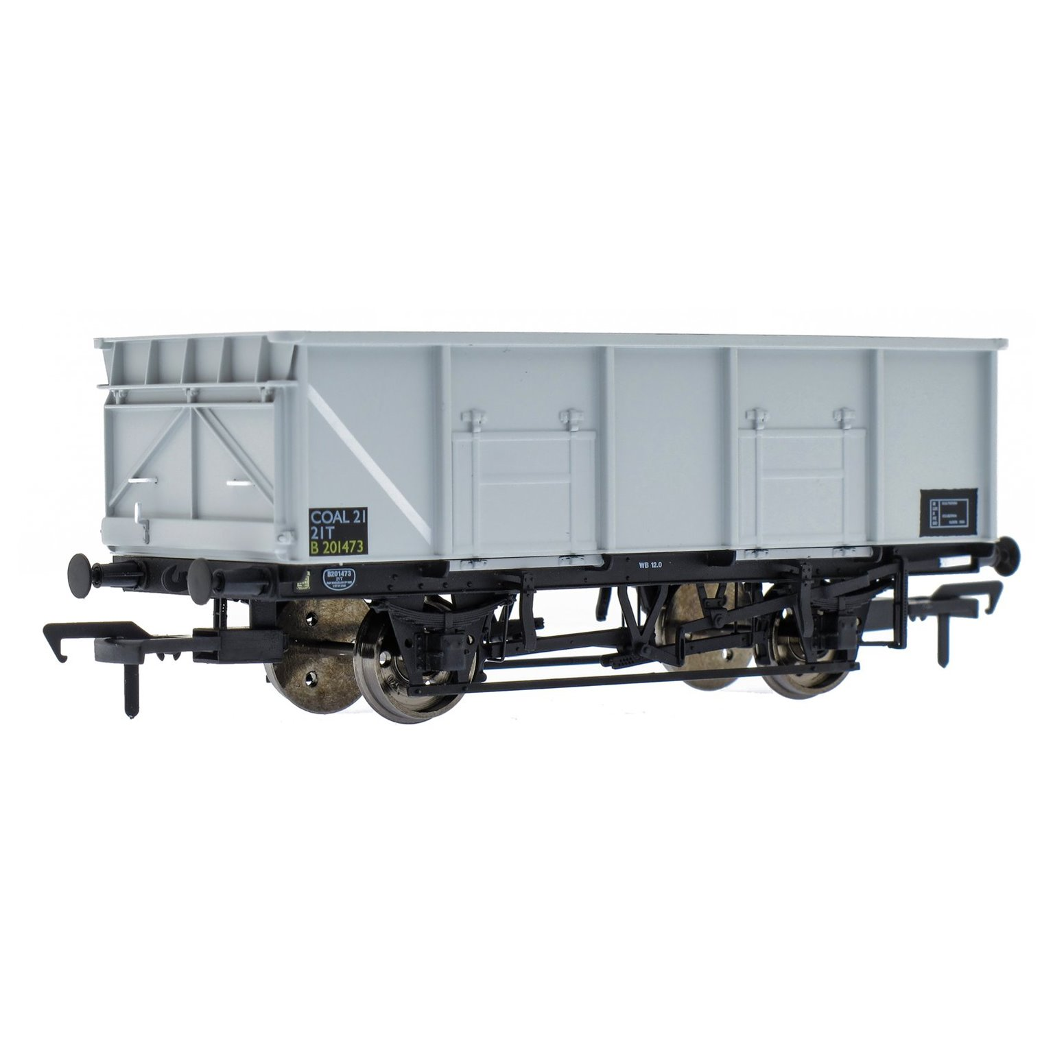BR 21T COAL21 / MDO Mineral Wagon Triple Pack - Grey pre TOPS- Pack C
